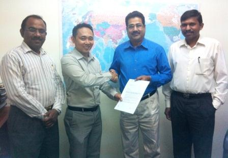 Synergy Hitech signed as the reseller for GPS